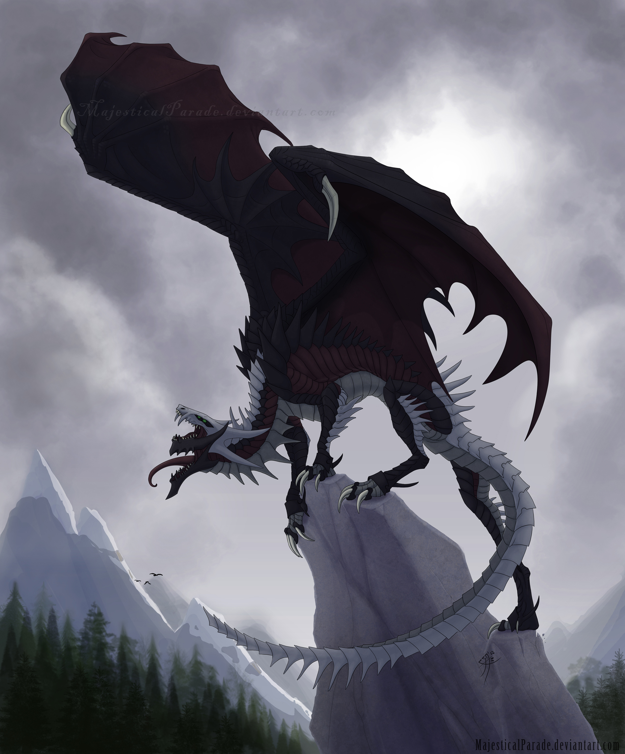 Mountain Roar by majesticalparade