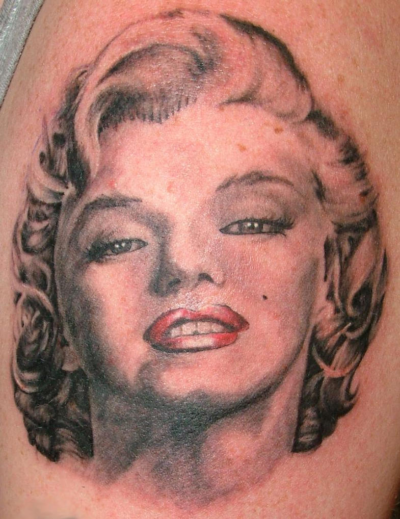 marilyn monroe quotes tattoo