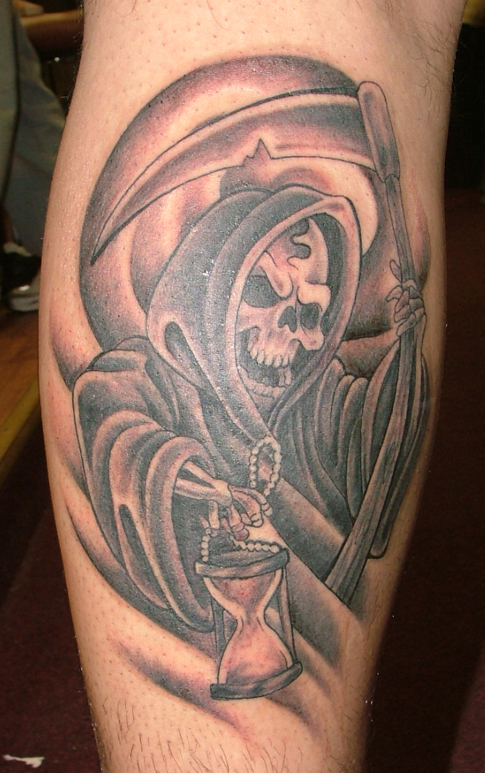 Tattoo grim reaper by b3rserker on deviantart for Tattoos of the grim reaper