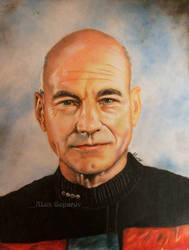 Captain Jean Luc Picard  (Patrick Stewart) by alexgeparov