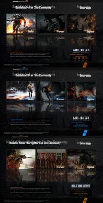 Battlefield 4 / 3 / Medal of Honor Warfi Enterpage