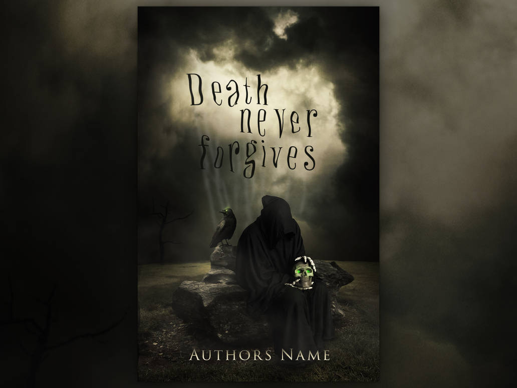 DEATH NEVER FORGIVES | Book Cover