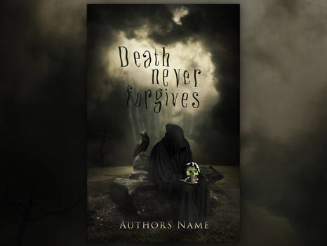 DEATH NEVER FORGIVES   Book Cover