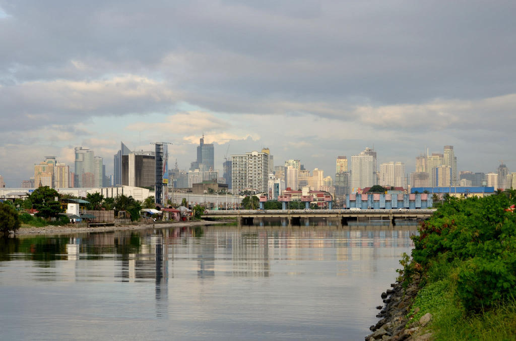 Makati from a distance by andrewbaay