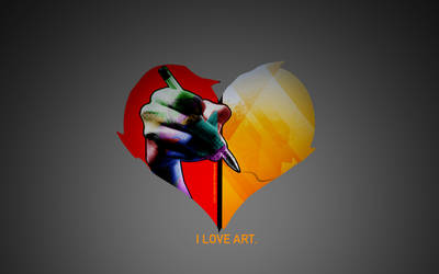 I LOVE ART. by andrewbaay