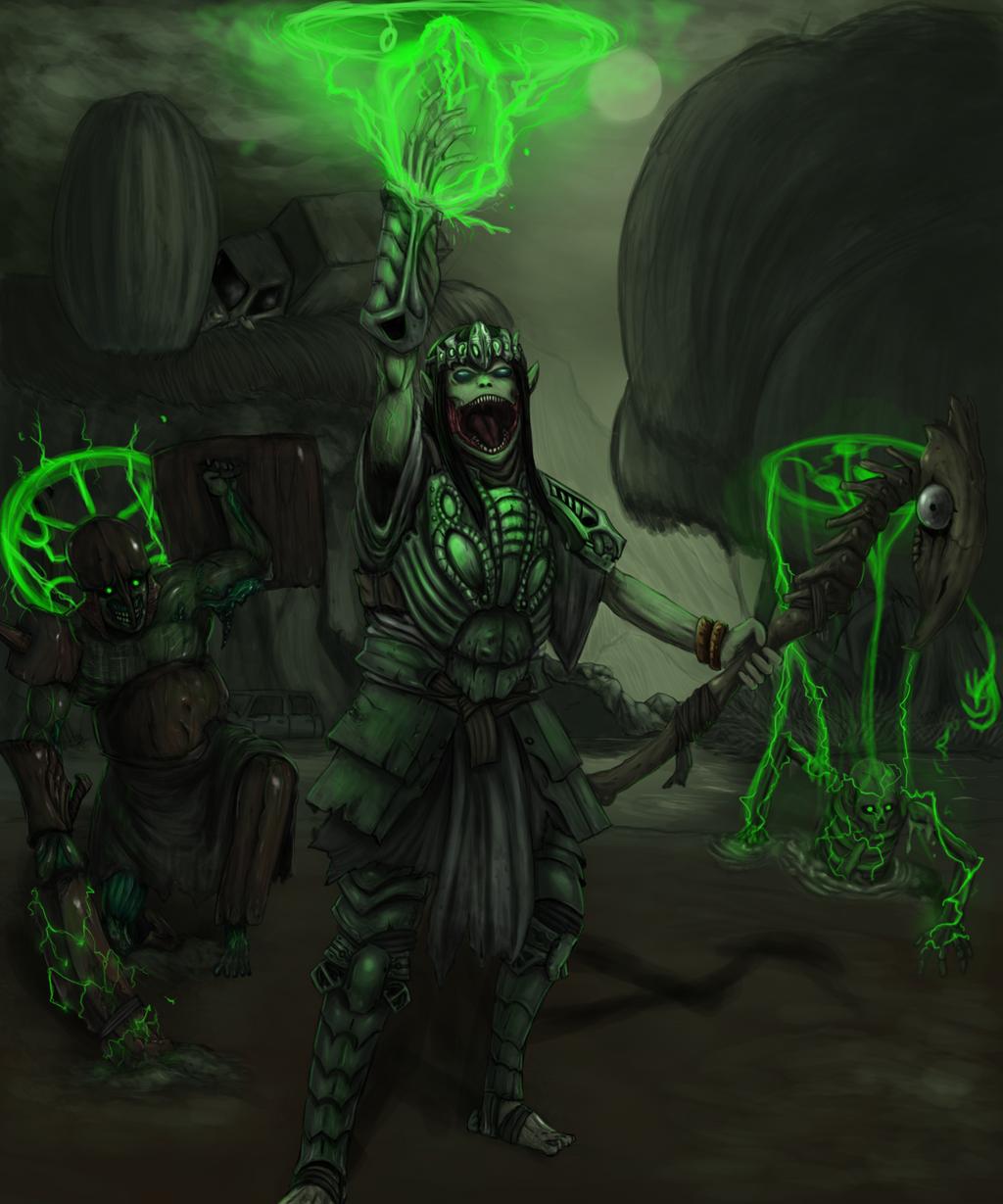 Necromancer by galtar66