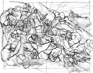 Marvel Comics Presents layout