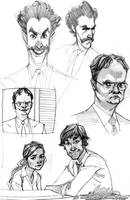 The Office and Borat Sketches