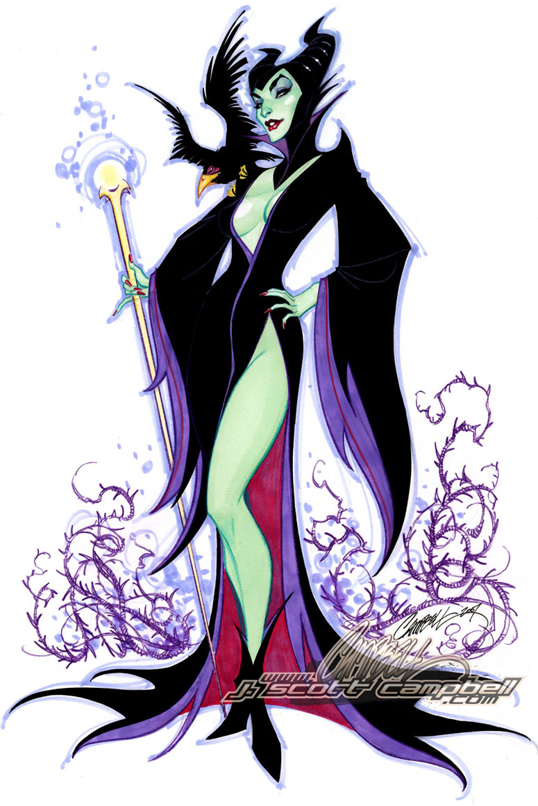 http://fc02.deviantart.net/fs28/f/2008/062/4/b/Maleficent_by_J_Scott_Campbell.jpg