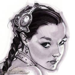 Slave Leia Christy 2 head