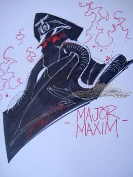 Major Maxim Wondercon Sketch