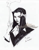 Liz Sherman from Hellboy by J-Scott-Campbell