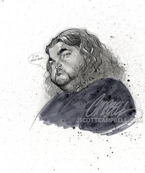 LOST sketch 'Hurley'