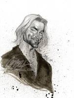 LOST sketch 'Sawyer' 2 by J-Scott-Campbell