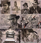 INDIANA JONES Sketch Cards 1