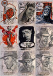 INDIANA JONES Sketch Cards 3