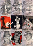 INDIANA JONES Sketch Cards 4