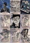 INDIANA JONES Sketch Cards 5