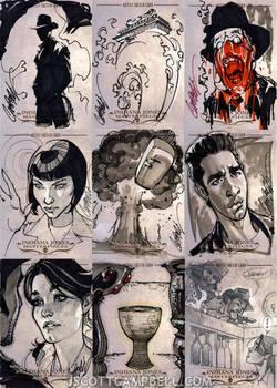 INDIANA JONES Sketch Cards 6