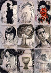 INDIANA JONES Sketch Cards 6