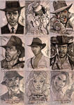 INDIANA JONES Sketch Cards 7