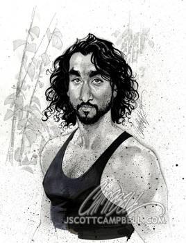 LOST sketch 'Sayid'
