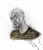 LOST sketch 'Locke' by J-Scott-Campbell