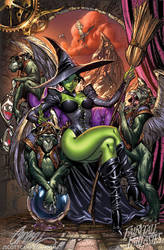 The Wicked Witch of the WEST by J-Scott-Campbell