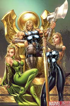 ULTIMATE COMICS THOR 1 cover