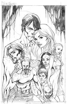 True Blood cover 1 Pencils