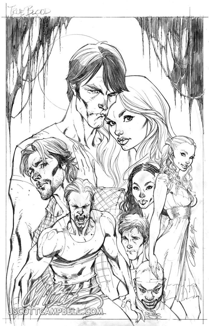 True Blood Coloring Pages | Bgcentrum
