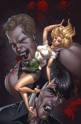 True Blood cover 2 Color by J-Scott-Campbell