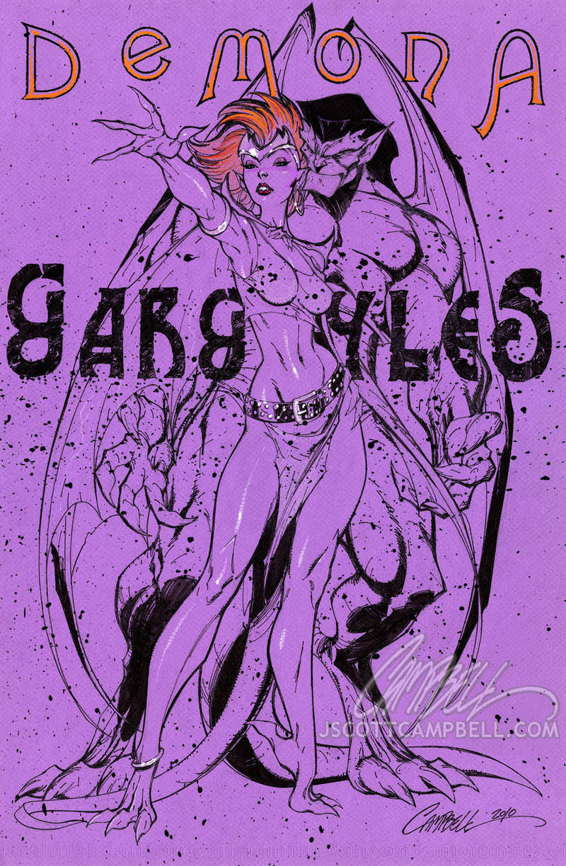 DEMONA by J-Scott-Campbell