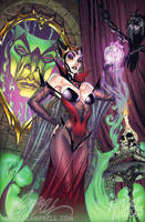 The EVIL Queen by J-Scott-Campbell