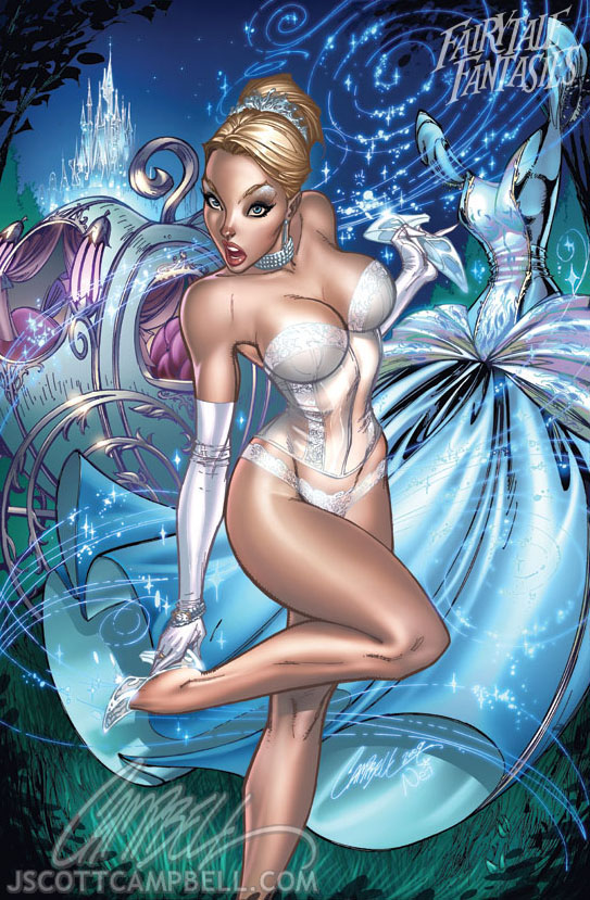 Cinderella 2010 by J-Scott-Campbell