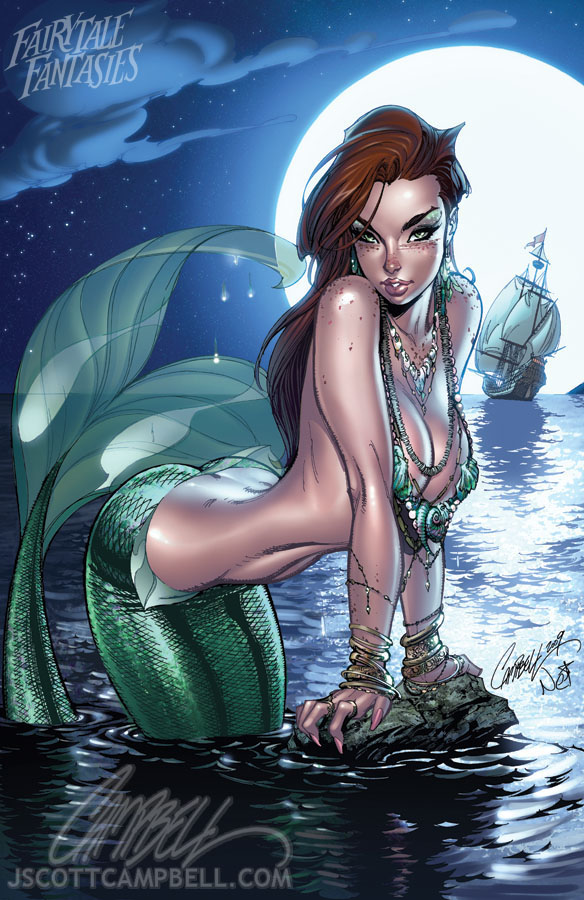 The Little Mermaid 2010 by J-Scott-Campbell