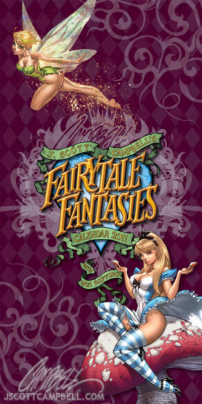 the gallery for gt fairytale fantasy j scott campbell