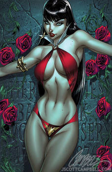 Vampirella 1 cover COLOR