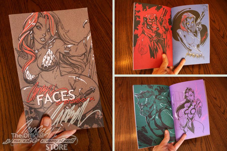 FACES sketchbook pics