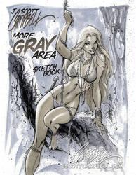 More GRAY Area sketchbook cvr by J-Scott-Campbell