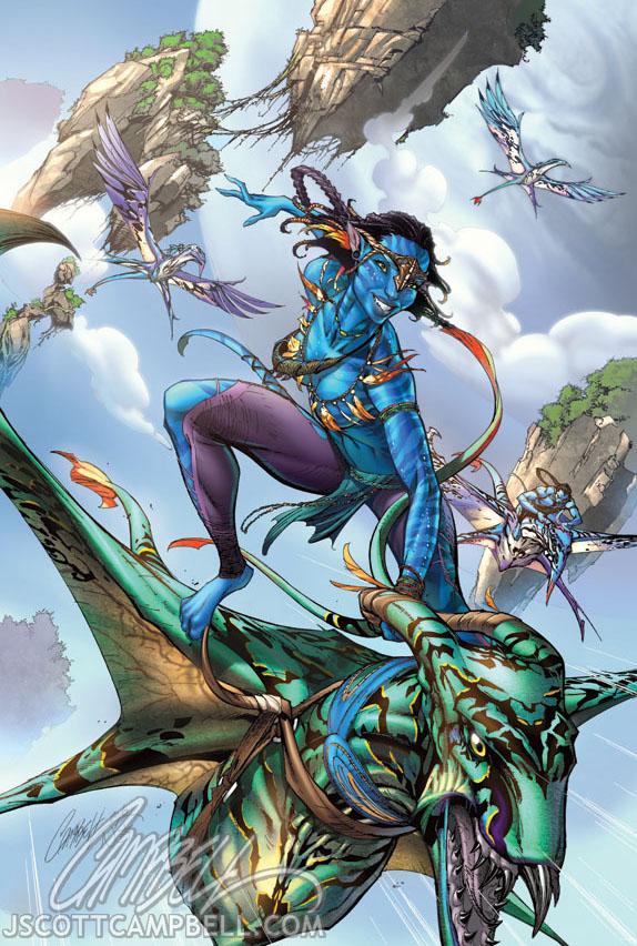 AVATAR comic book art