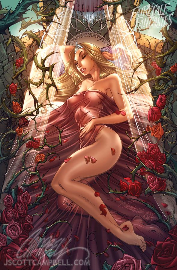 Sleeping Beauty 2010 by J-Scott-Campbell