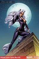 Ult. Spider-Man Black Cat by J-Scott-Campbell
