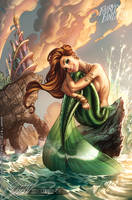 The Little Mermaid FTF 2012 by J-Scott-Campbell