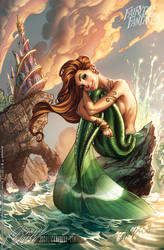 The Little Mermaid FTF 2012 by J-Scott-Campbell
