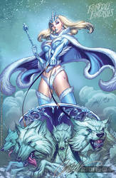 Snow Queen FTF 2011 by J-Scott-Campbell