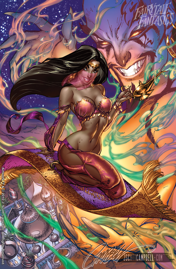 Arabian Nights FTF 2011 by J-Scott-Campbell