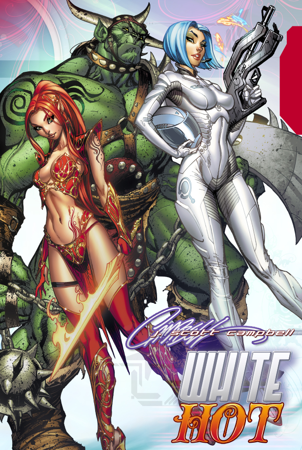 WHITE Hot : Hardcover collection by J-Scott-Campbell