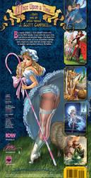FairyTale Fantasies 2012 Calendar back-cover