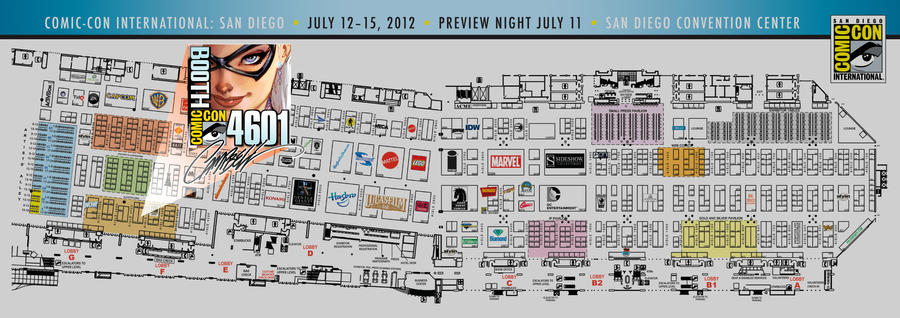 SDCC J. Scott Campbell MAP to 4601